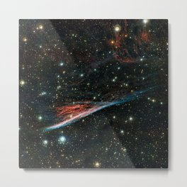 Pencil Nebula (NGC 2736) Metal Print