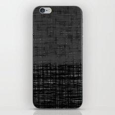 platno (gray) iPhone & iPod Skin