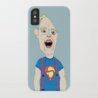 the goonies iPhone & iPod Cases featuring The Goonies by Elena Éper
