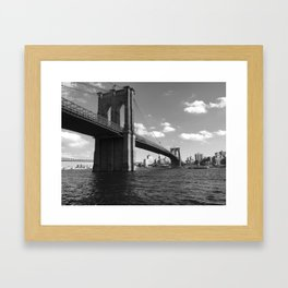 Bridging the Gap Framed Art Print