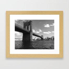 Bridging the Gap Framed Art Print