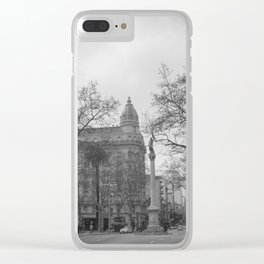 Plaza Cagancha - Montevideo Clear iPhone Case