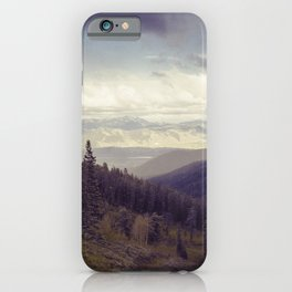 Above The Mountains iPhone Case