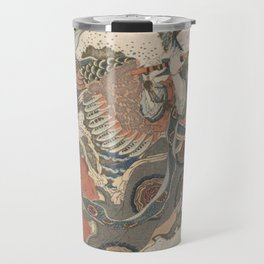 Mystical Bird (Karyōbinga) - Hokusai Travel Mug