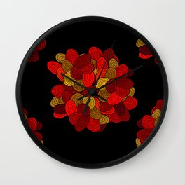 """Color Skein"" Wall Clock"