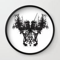mask Wall Clocks featuring MASK by kartalpaf