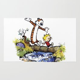 calvin and hobbes 03 [TW] Rug