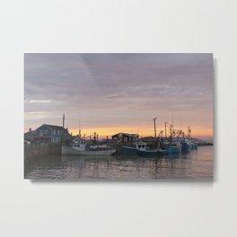 Harbourville Sunet Metal Print