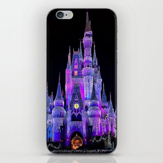 Walt Disney World Christmas Lights iPhone Skin