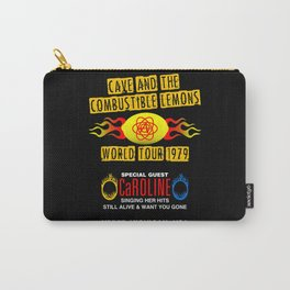 Cave & The Combustible Lemons Carry-All Pouch