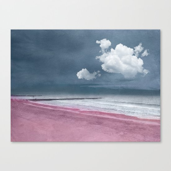 Pink Beach Canvas Print