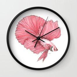Fancy Betta Wall Clock