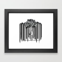unzip the code. Framed Art Print