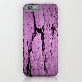 Old Bark - Violet iPhone Case