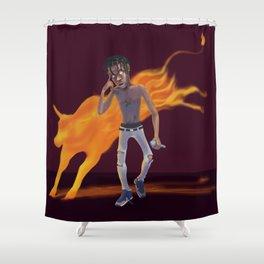 Antitode Shower Curtain
