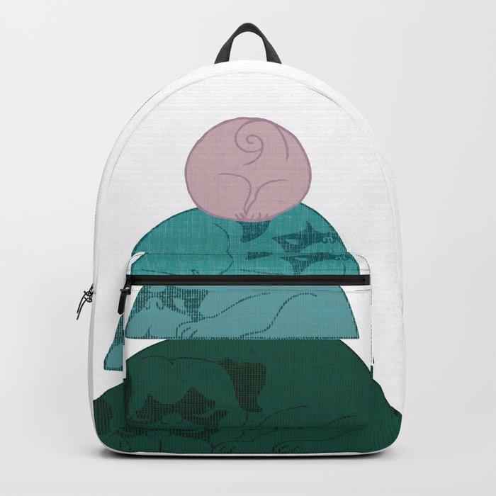 Halfmoon Pugs Backpack