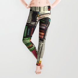 Cassettes, VHS & Games Leggings