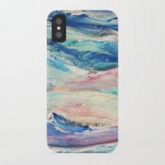 3D Ocean waves iPhone X Slim Case