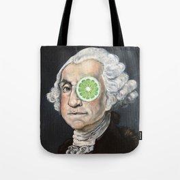 Limeade George Washington Tote Bag