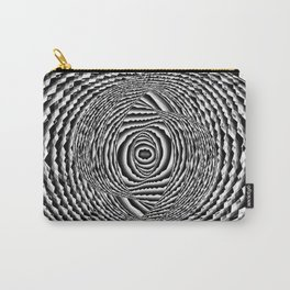 Abstract Spiral Galaxy Carry-All Pouch