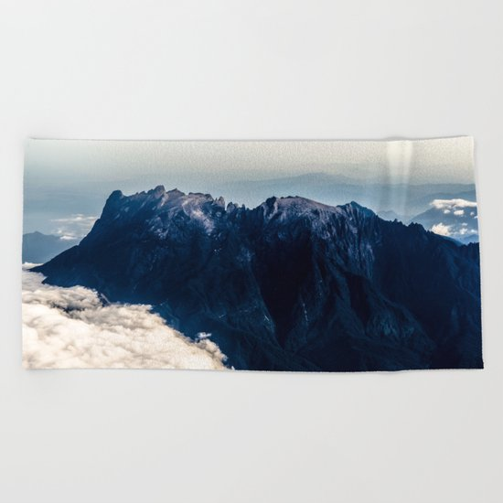 Misty Mountain Majesty Beach Towel