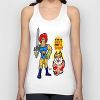 thundercats Tank Tops featuring SNARF!  The greatest of ALL The Thundercats...  Way cooler than Lion-O! by beetoons