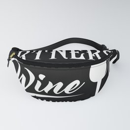 Wine partner winemaker wine glass Fanny Pack