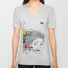Mass of Fermenting Dregs - One Day - colorful baloon Unisex V-Neck