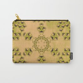Hay Bales Mandala Carry-All Pouch