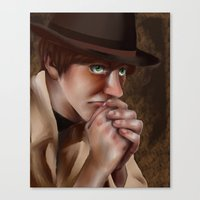 hetalia Canvas Prints featuring Hetalia print 3 by Milkyol
