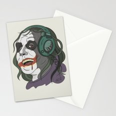 Joker illustration Stationery Cards