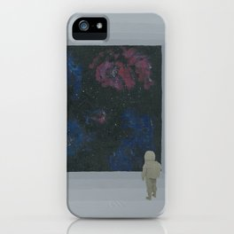 Empty Space 13 iPhone Case