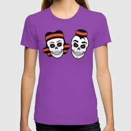 Spooky Rockabilly Skulls T-shirt