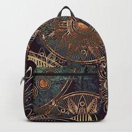 Steampunk Mandala Backpack