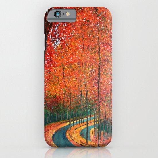 Beautiful colors of Autumn iPhone & iPod Case