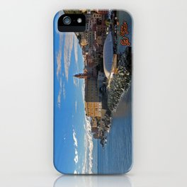 Porto di Nervi iPhone Case