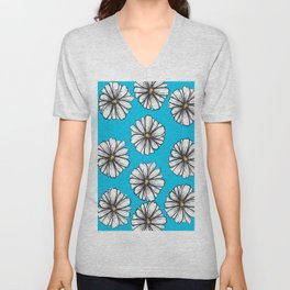 Please Don't Eat the Daisies Unisex V-Neck