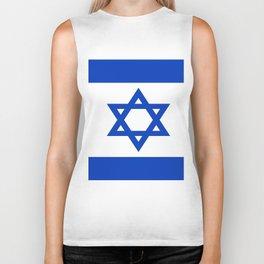 Flag of Israel Biker Tank