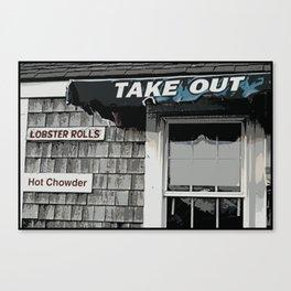 Take Out Canvas Print
