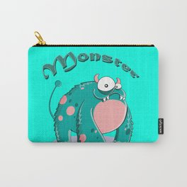 funny monster  Carry-All Pouch