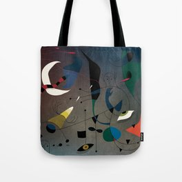 Miró's Ghost Wakes Up from a Bad Reality Tote Bag
