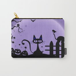 Cat Halloween-Nightmare Carry-All Pouch