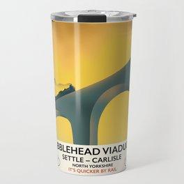 Ribblehead Viaduct Yorkshire Travel Mug