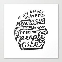 Precious People Canvas Print