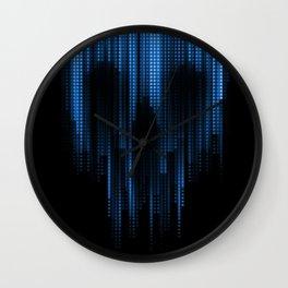 deadcity blue Wall Clock