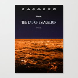 Movie Poster: The End of Evangelion Canvas Print