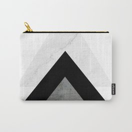 Arrows Monochrome Collage Carry-All Pouch