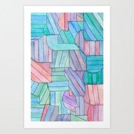 Sugar Mangnolia Art Print