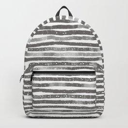 Grey stripes Backpack