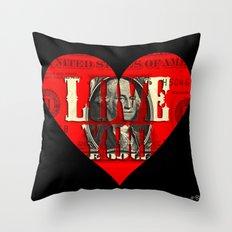 Modern Times - Real Love Throw Pillow